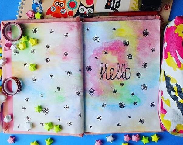 01.Как оформить личный дневник: идеи для лд