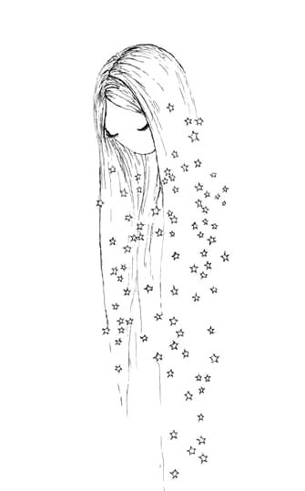 Картинки для девочек карандашом для срисовки