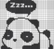 Как нарисовать панду по клеточкам