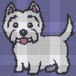 Как нарисовать собаку по клеточкам